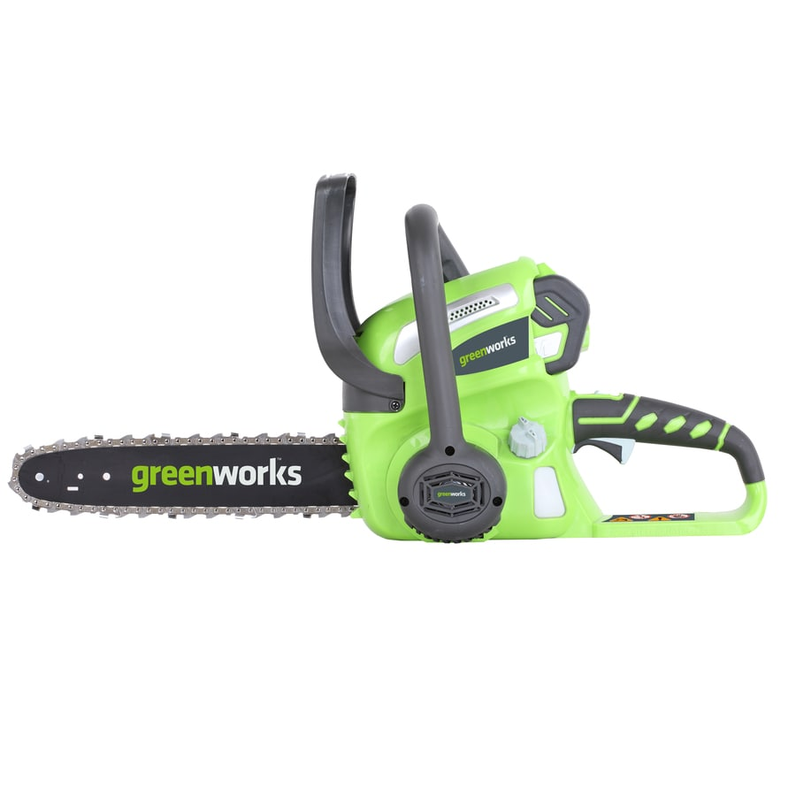 Greenworks 40-Volt Lithium Ion (Li-ion) 12-in Cordless Electric Chainsaw