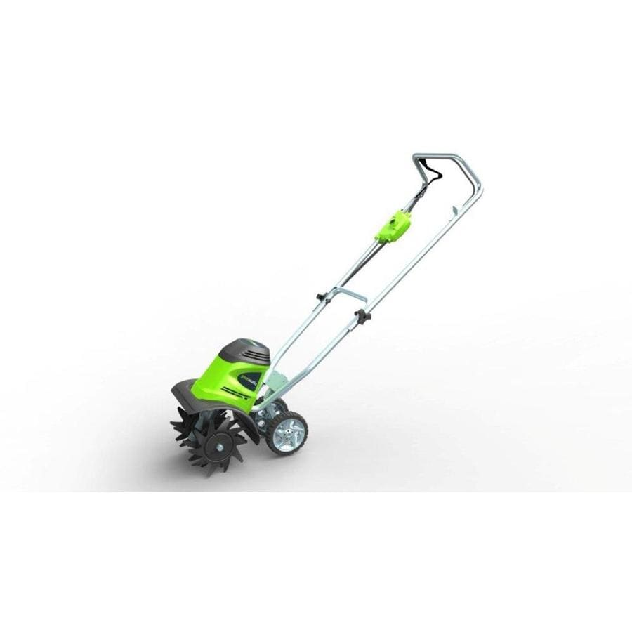 Greenworks 8 Amp 10-in Corded Electric Cultivator