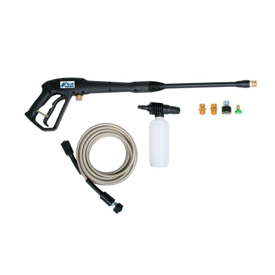 Blue Hawk Pressure Washer Replacement Gun and Hose Kit for Electric Pressure Washers