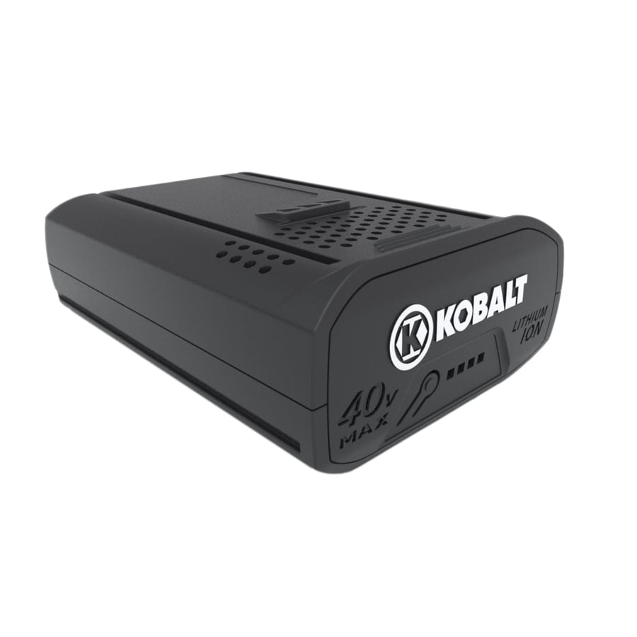 Kobalt 40-volt 2-Amp-Hours Rechargeable Lithium Ion (Li-ion) Cordless Power Equipment Battery
