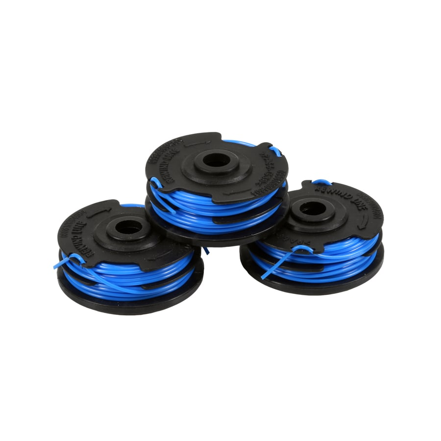 Shop Kobalt 3 Pack 20 Ft Spool 0 065 In Trimmer Line At
