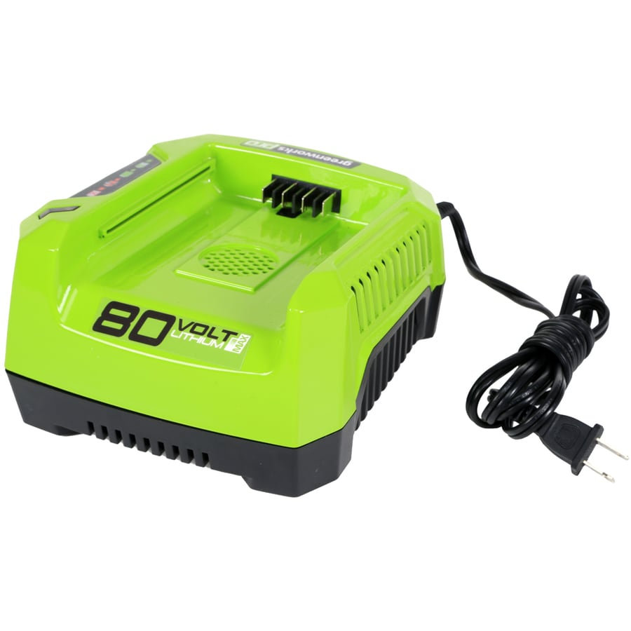 Greenworks 80-Volt Lithium Ion (Li-ion) Cordless Power Equipment Battery Charger