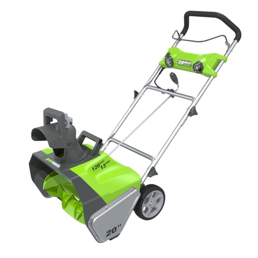 Greenworks 13-Amp 20-in Corded Electric Snow Blower