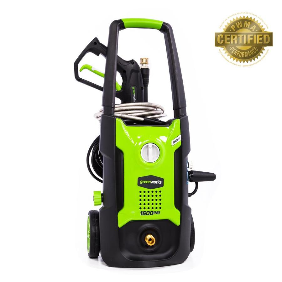 Greenworks 1600-PSI 1.2-Gallon-GPM Cold Water Electric Pressure Washer