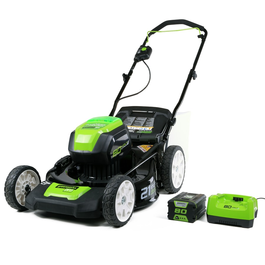 Greenworks 80 Volt Max Brushless Lithium Ion 21 In Push