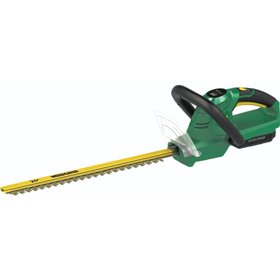 Weed Eater WB20VH 20-Volt 20-in Dual Cordless Hedge Trimmer (Battery Included)