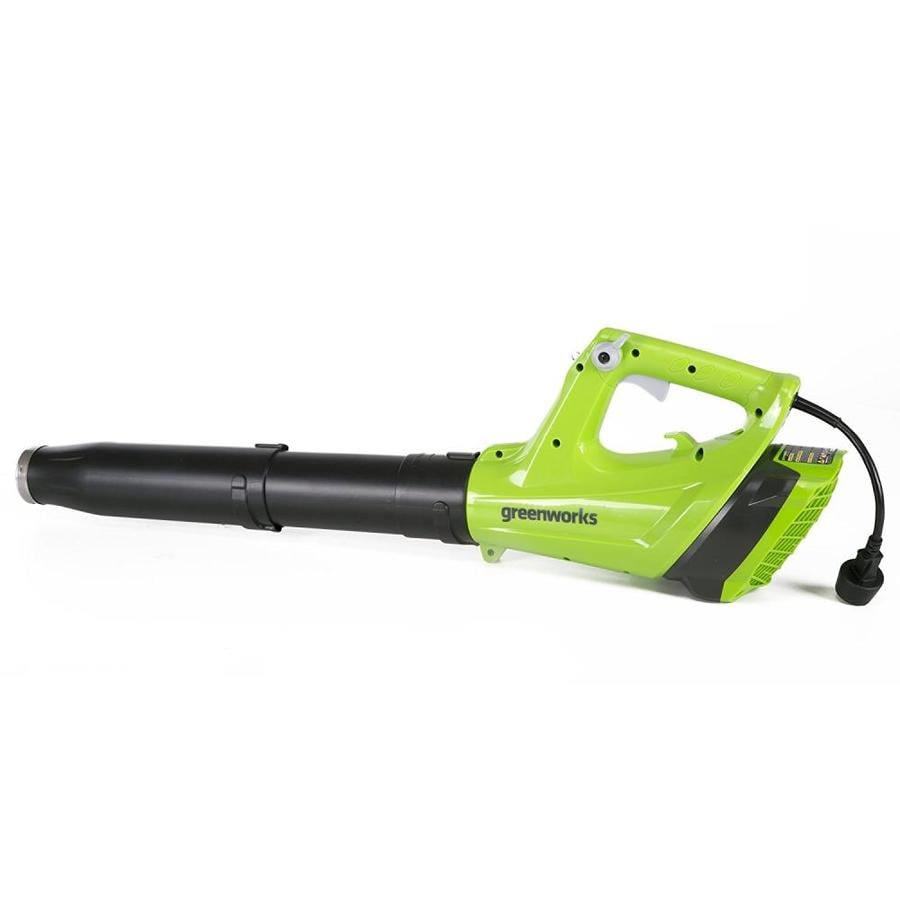 Shop Greenworks 9 Amp 530 Cfm 130 Mph Corded Electric Leaf