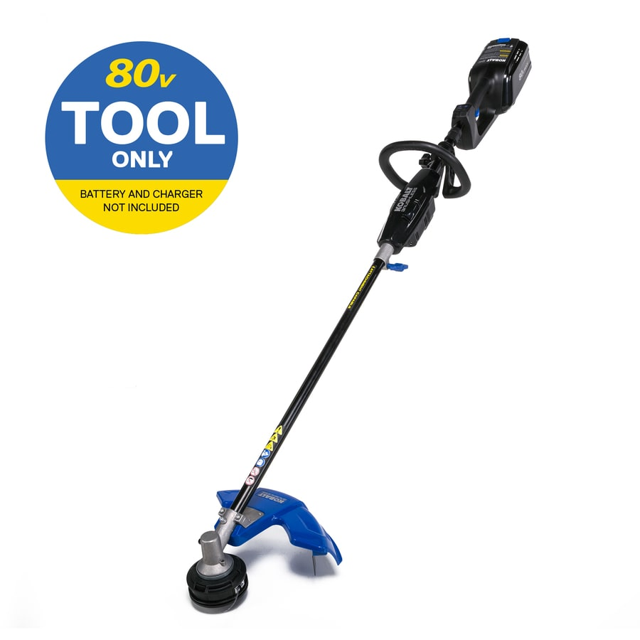 Kobalt 80-Volt Max 16-in Straight Brushless Cordless String Trimmer (Tool Only)