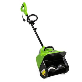 Greenworks 8-Amp 12-in Single-stage Corded Electric Snow Blower