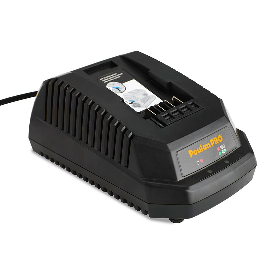 Poulan Pro 40-Volt Lithium Ion (Li-ion) Cordless Power Equipment Battery Charger