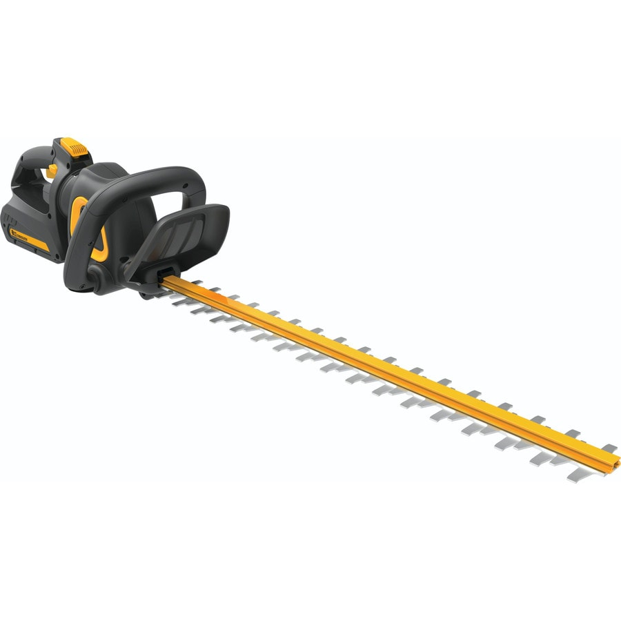 Poulan Pro PPB40HT 40-Volt 24-in Dual Cordless Hedge Trimmer (Battery Included)