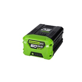 Greenworks Pro 60-Volt Max 2-Amps Rechargeable Lithium Ion (Li-Ion) Cordless Power Equipment Battery