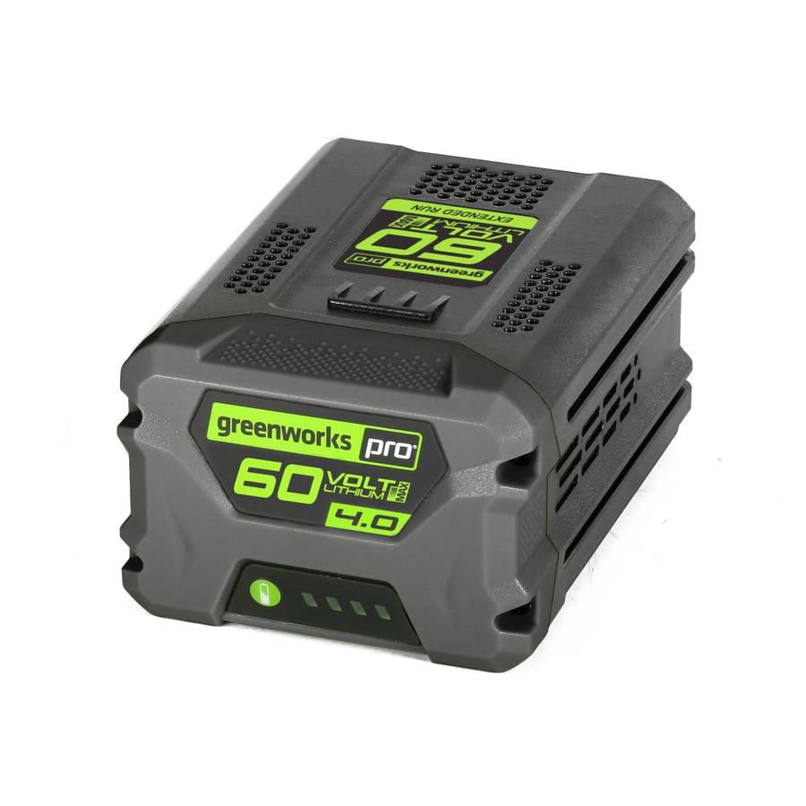 shop greenworks pro 60 volt max 4 amp hours rechargeable lithium ion cordless power equipment. Black Bedroom Furniture Sets. Home Design Ideas