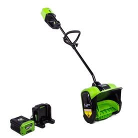 Battery Operated Snow Blower >> Cordless Electric Snow Blowers at Lowes.com