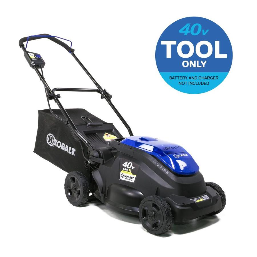 Kobalt 40-volt Max Lithium Ion 16-in Deck Width Cordless Electric Lawn Mower with Mulching Capability  (Battery Not Included)
