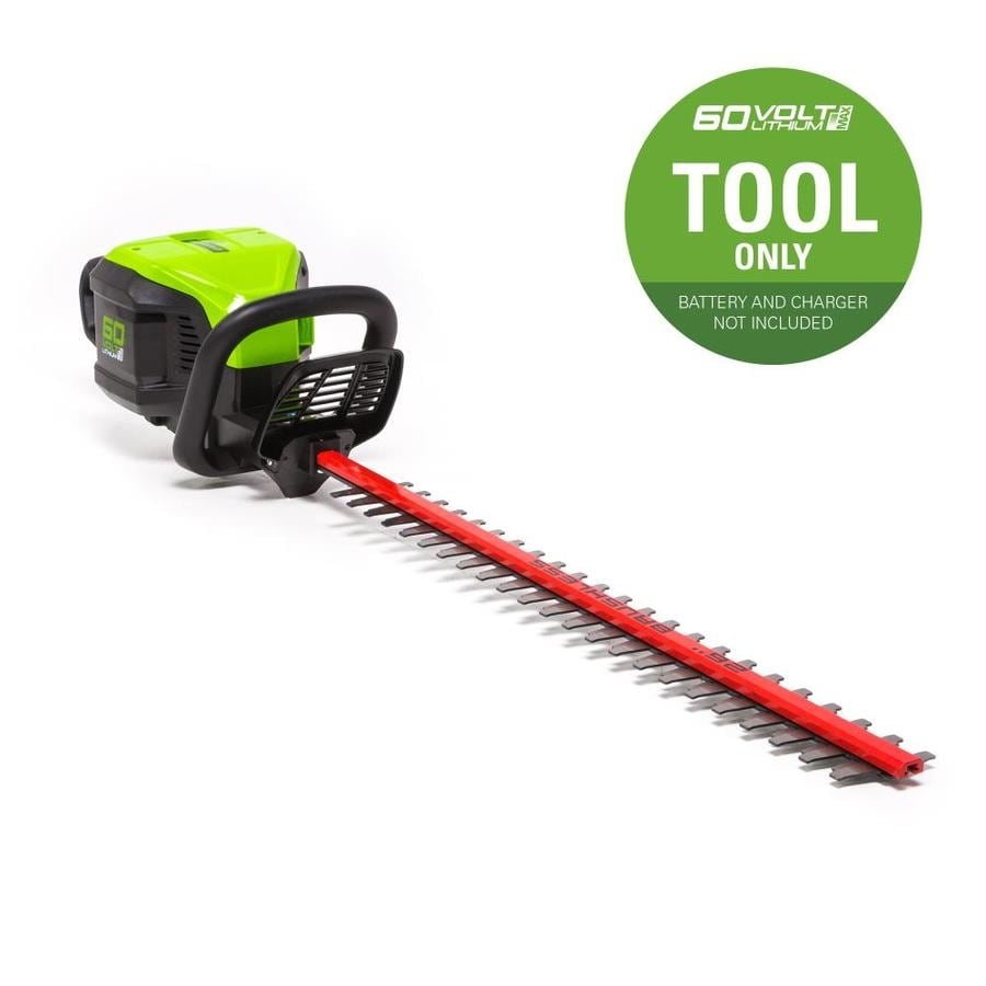 Greenworks Pro 60-volt Max 26-in Dual Cordless Electric Hedge