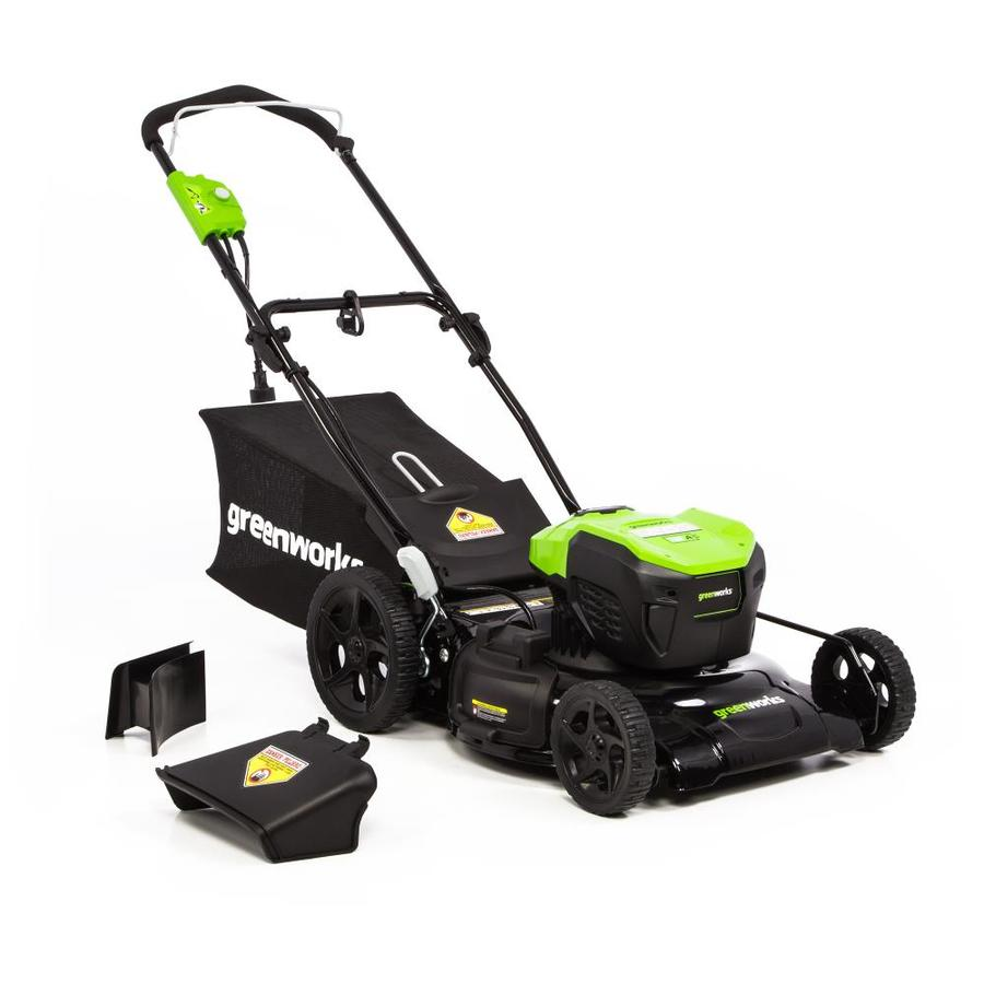 Greenworks 12 Amp 20 In Corded Electric Lawn Mower