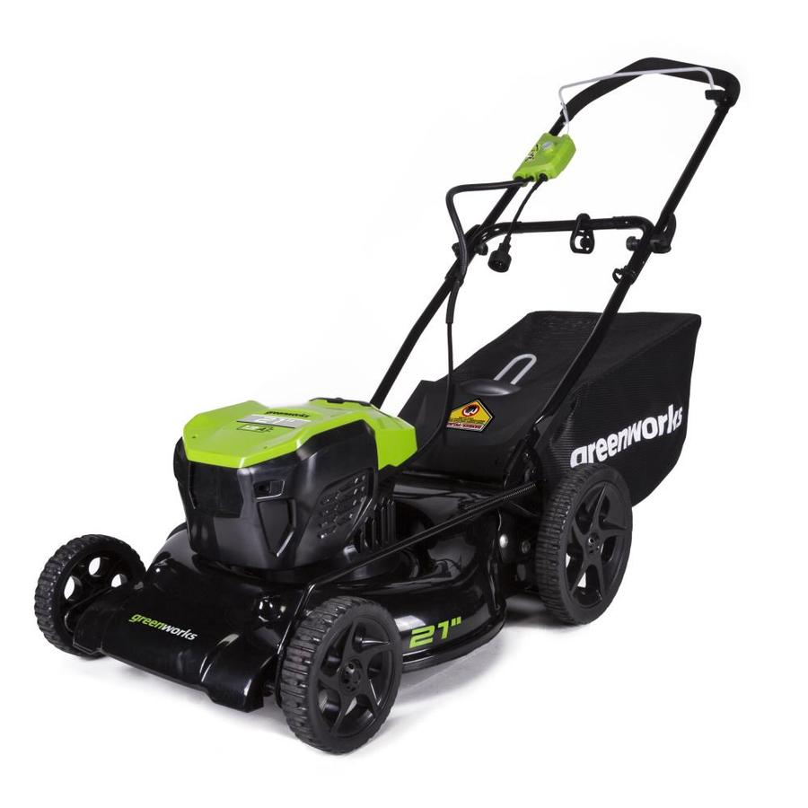 Greenworks 13 Amp 21 In Corded Electric Lawn Mower At