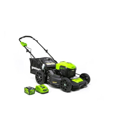 Greenworks 40-volt Lithium Ion 20-in Push Cordless Electric