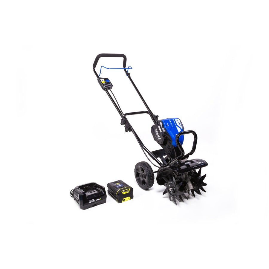 Kobalt 80-Volt Lithium Ion 10-in Cordless Electric Cultivator (Battery Included)