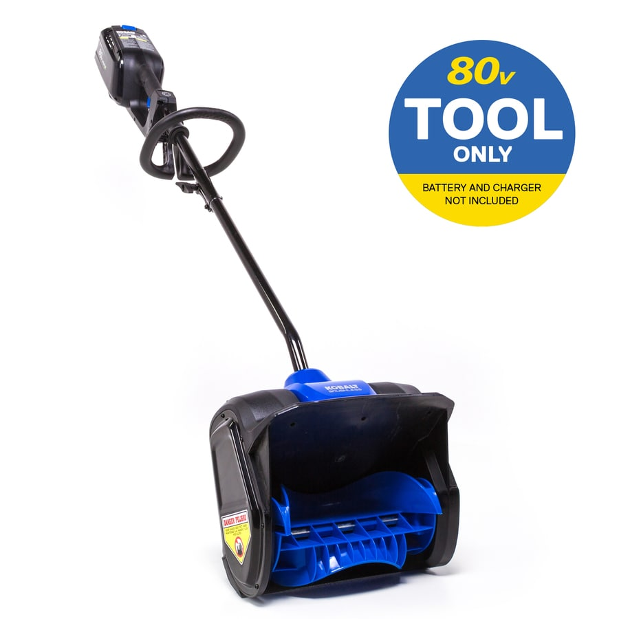 Kobalt 80-Volt Max 12-in Single-stage Cordless Electric Snow Blower Battery Not Included