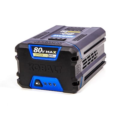 Kobalt 80-volt 2 5-Amp Hours Rechargeable Lithium Ion