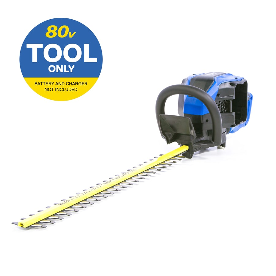 Kobalt 80 Volt Max 26 In Dual Cordless Electric Hedge
