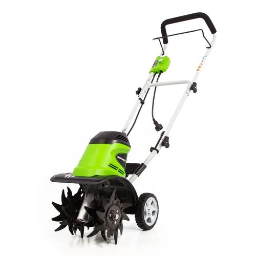 Greenworks 8.5-Amp 11-in Forward-rotating Corded Electric Cultivator
