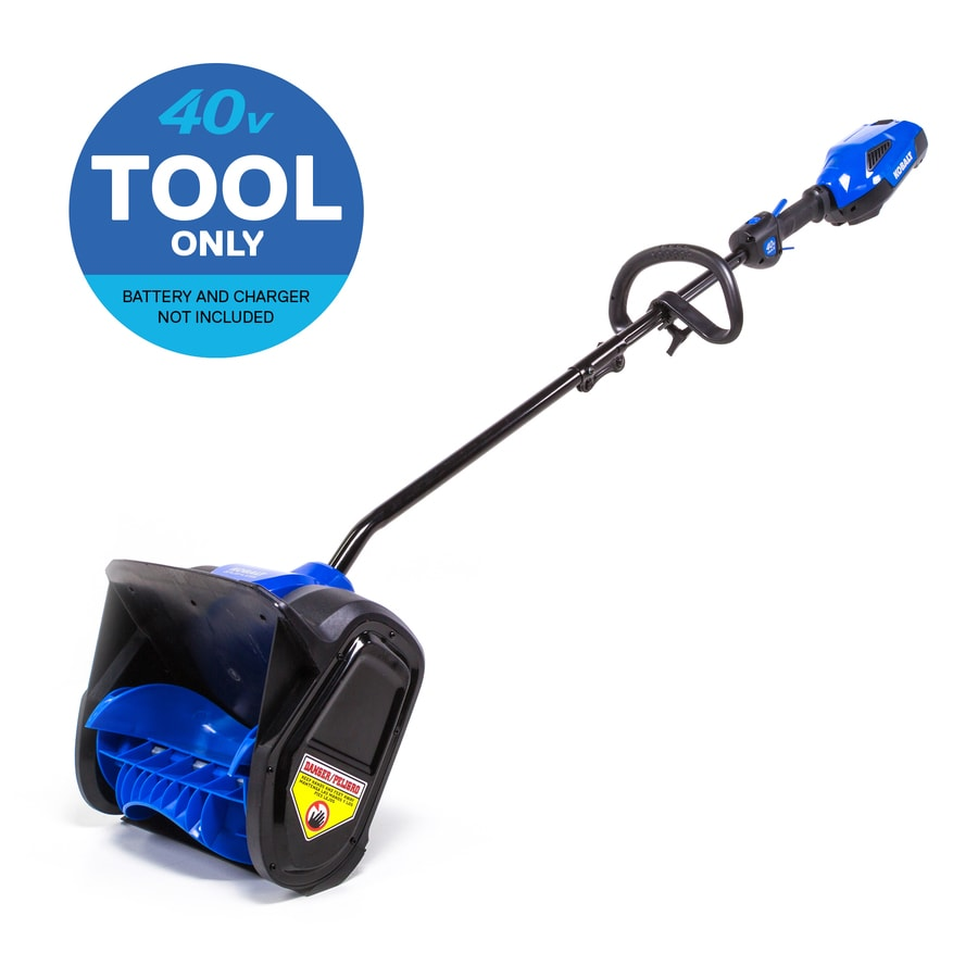 Kobalt 40-Volt Max 12-in Cordless Electric Snow Blower (Battery Not Included)