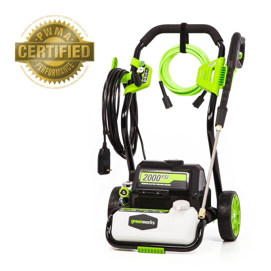Greenworks GW 2000 Electric Pressure Washer