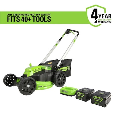 Greenworks Pro 60-volt Brushless Lithium Ion Self-propelled 25
