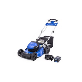 Kobalt 80-Volt Max Brushless Lithium Ion Push 21-in Cordless Electric Lawn Mower (Battery Included)