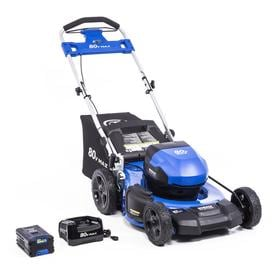 Kobalt 80 Volt Max Brushless Lithium Ion 21 In Push Cordless Electric Lawn Mower