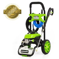 Greenworks 2000-PSI 1.2-GPM Cold Water Electric Pressure Washer