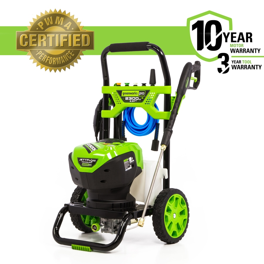 Greenworks Pro 2300-PSI 2.3-GPM Cold Water Electric Pressure Washer