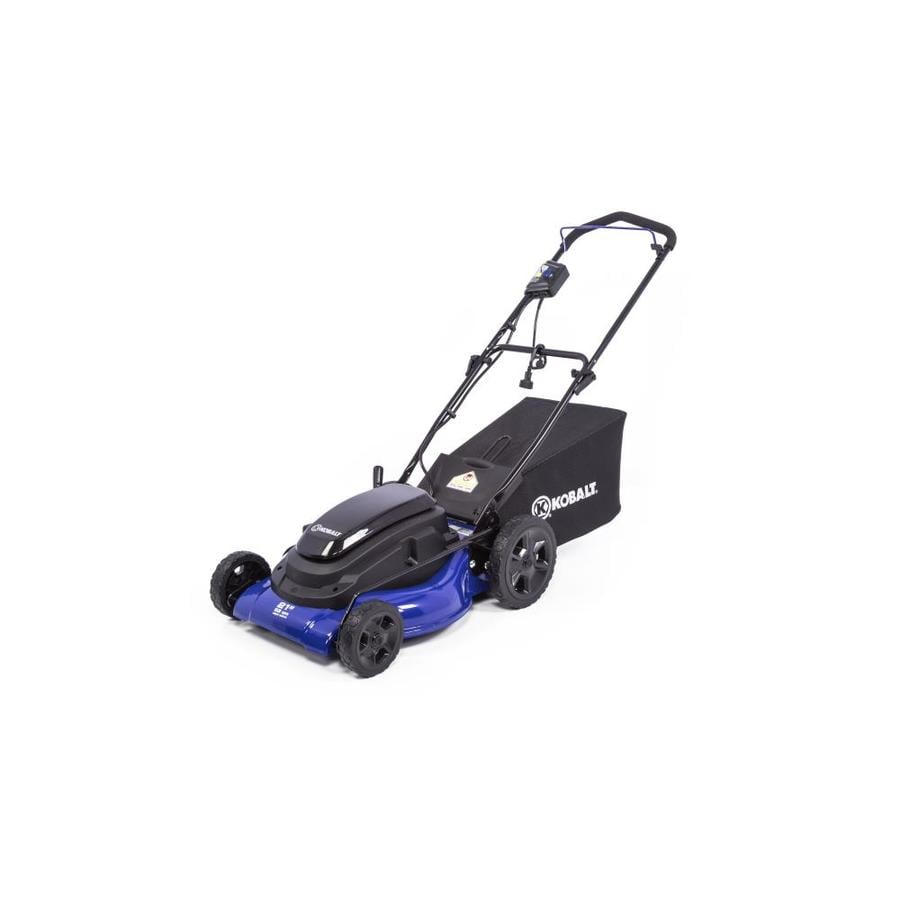 Kobalt 13 Amp 21 In Corded Electric Lawn Mower At