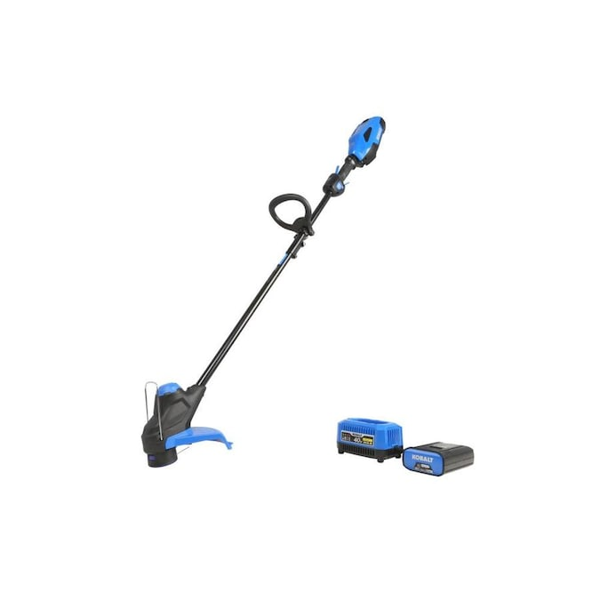 Kobalt 40-Volt Max 12-in Straight Cordless String Trimmer (1-Battery Included)