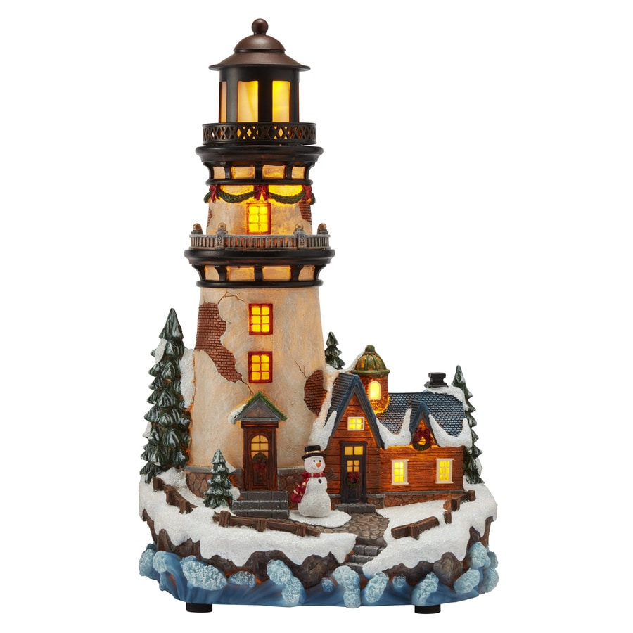 Carole Towne Pre-Lit House with Twinkling Multicolor LED Lights