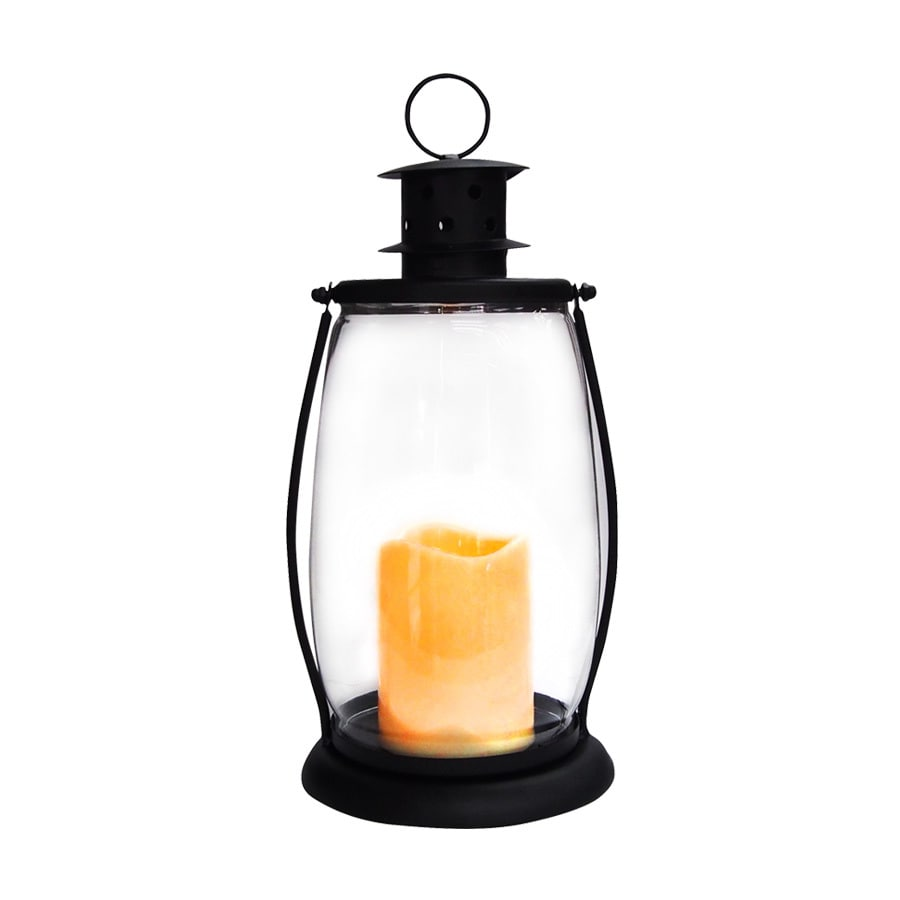 Holiday Living Pre-Lit Lantern Christmas Gift Twinkling Yellow Led Lights