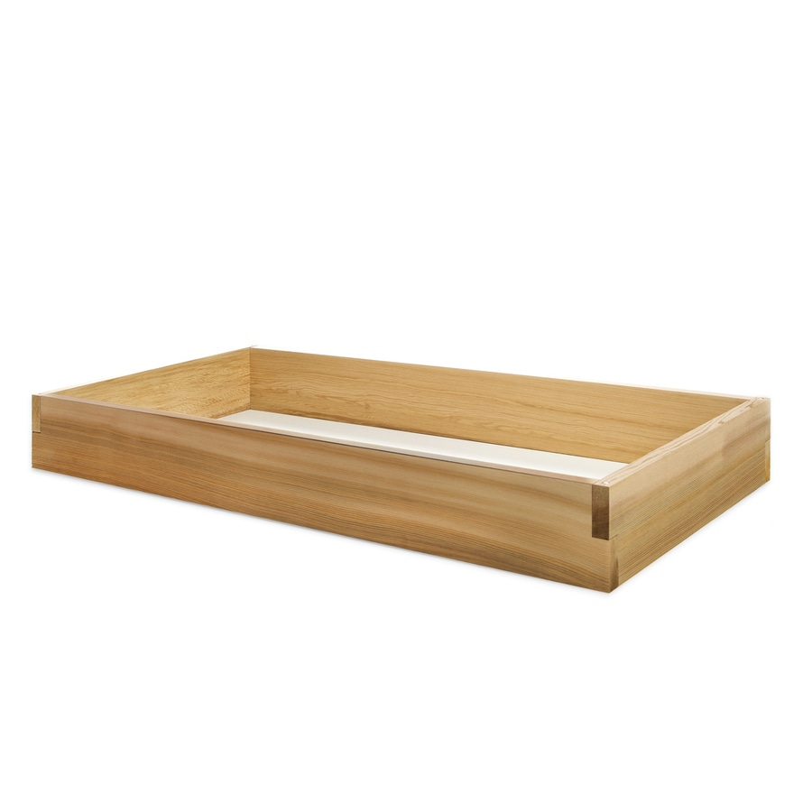 Natural Cedar Raised Garden Beds: All Things Cedar 24-in W X 48-in L X 5.5-in H Natural