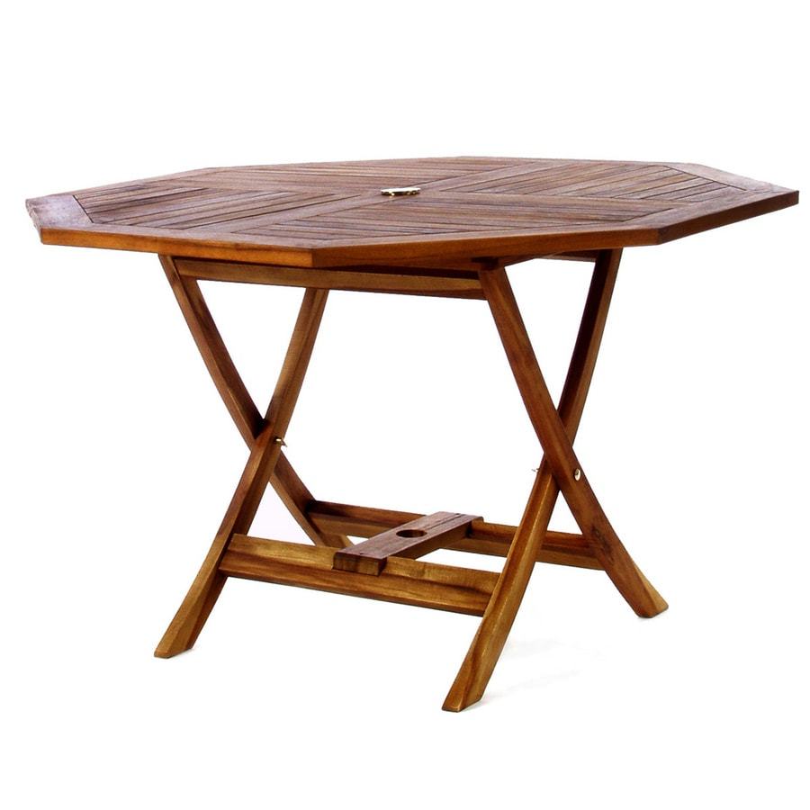 All Things Cedar Octagon Dining Table 48 In W X 48 In L