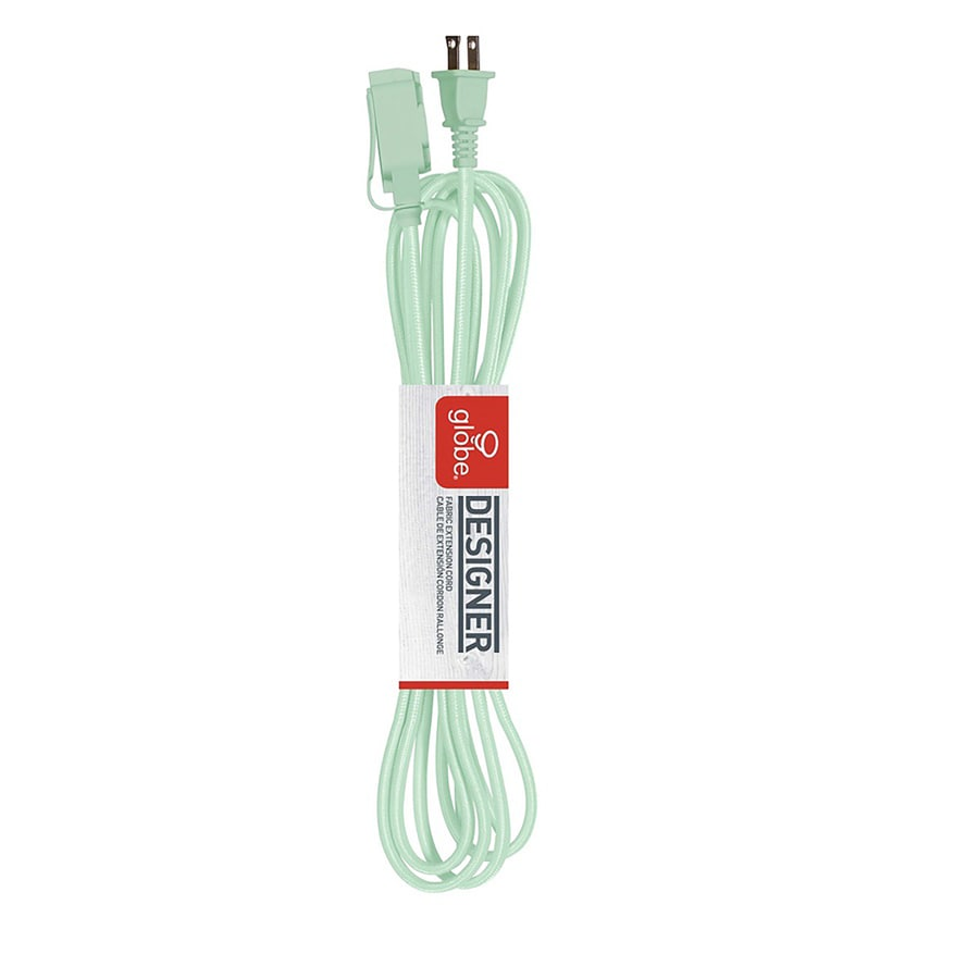Globe Electric 9-ft 13 125-Volt 3-Outlet 16-Gauge Mint Indoor Extension Cord