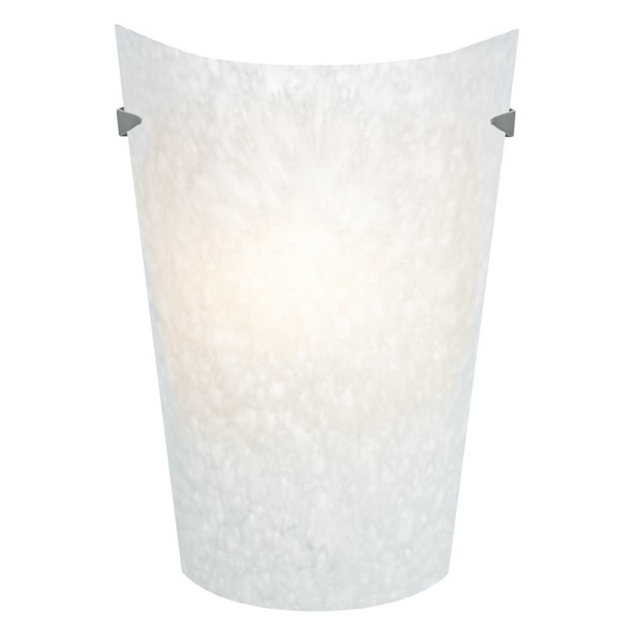 Shop portfolio 1 light white pocket wall sconce at lowes portfolio 1 light white pocket wall sconce amipublicfo Image collections
