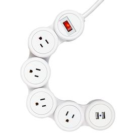 Surge Protectors at Lowes.com on 4 wire telephone cable, 3 prong 220v plug, 4 wire phone plug, 4 wire generator plug, 4 wire cable plug, 4 wire to 3 wire 220, 4 wire range plug, 4 wire fan switch, 4 wire stove connection, 4 wire plug connector, 4 wire radio plug,