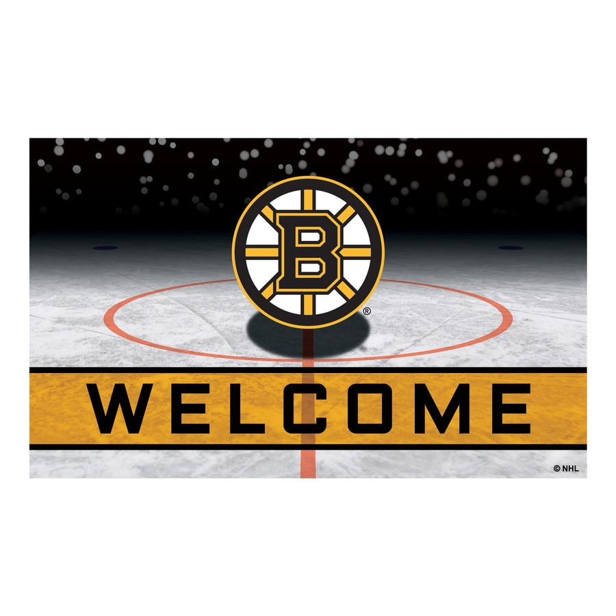 Fanmats Boston Bruins Team Color Indoor Outdoor Sports Throw Rug Common 1