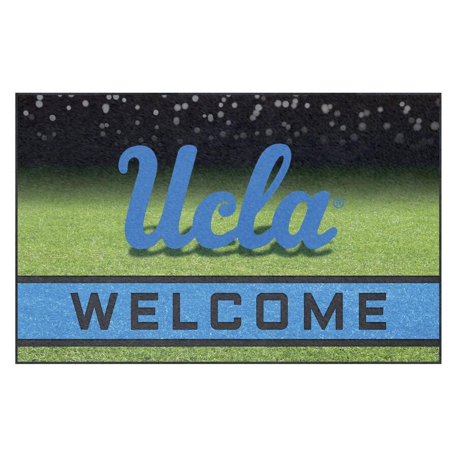 FANMATS University Of California- Los Angeles (UCLA) 18 In. x 30 In. Rubber Door Mat