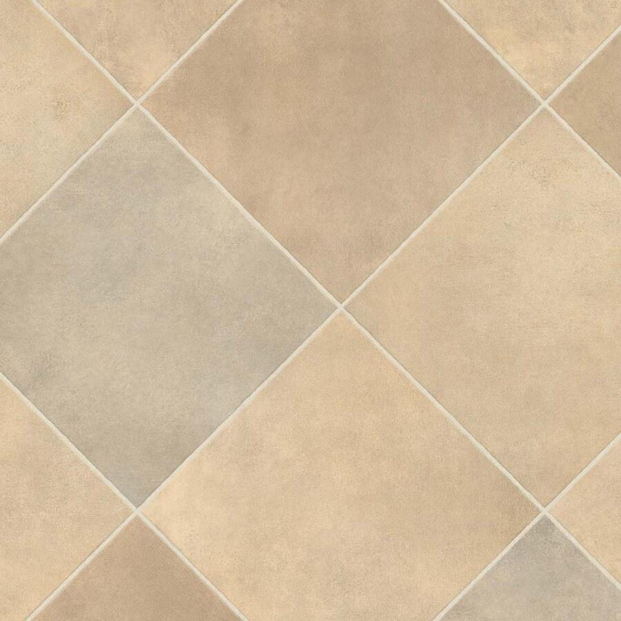 IVC 13.167-ft W Durango 933 Tile Low-Gloss Finish Sheet Vinyl