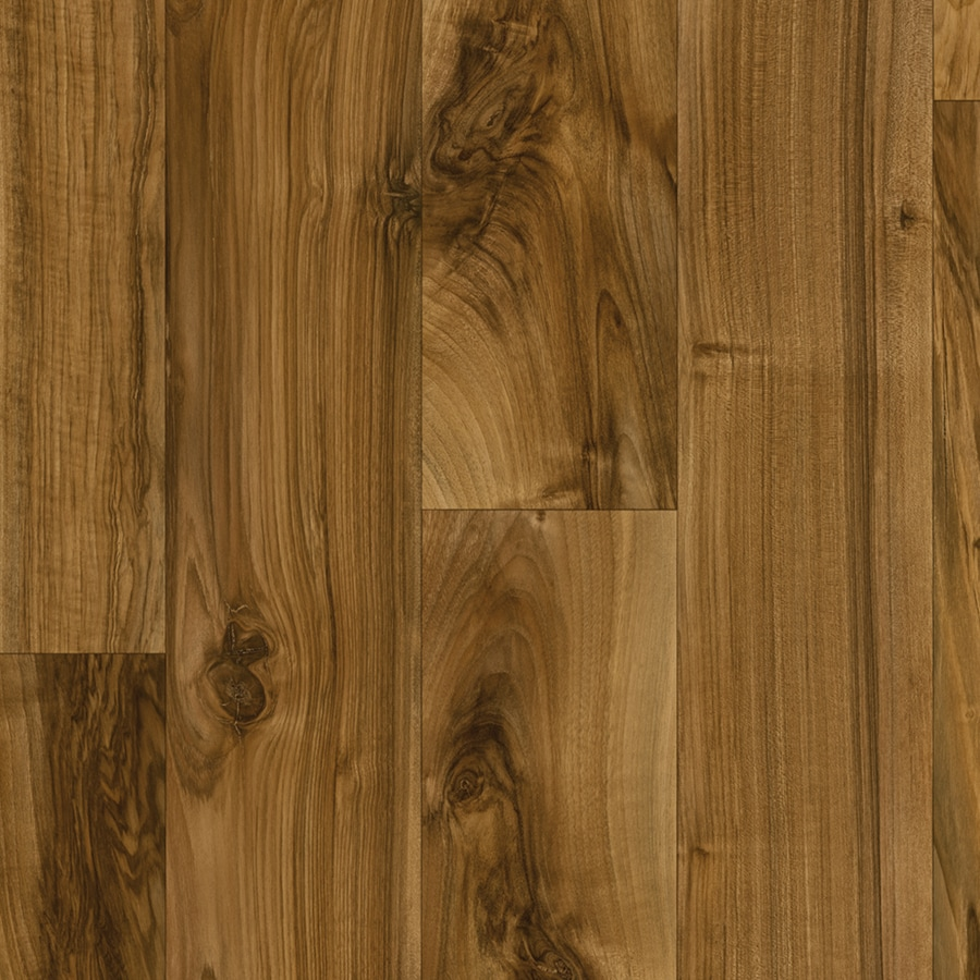 IVC Illusions 13.167-ft W Highland 737 Wood-Look Low-Gloss Finish Sheet Vinyl