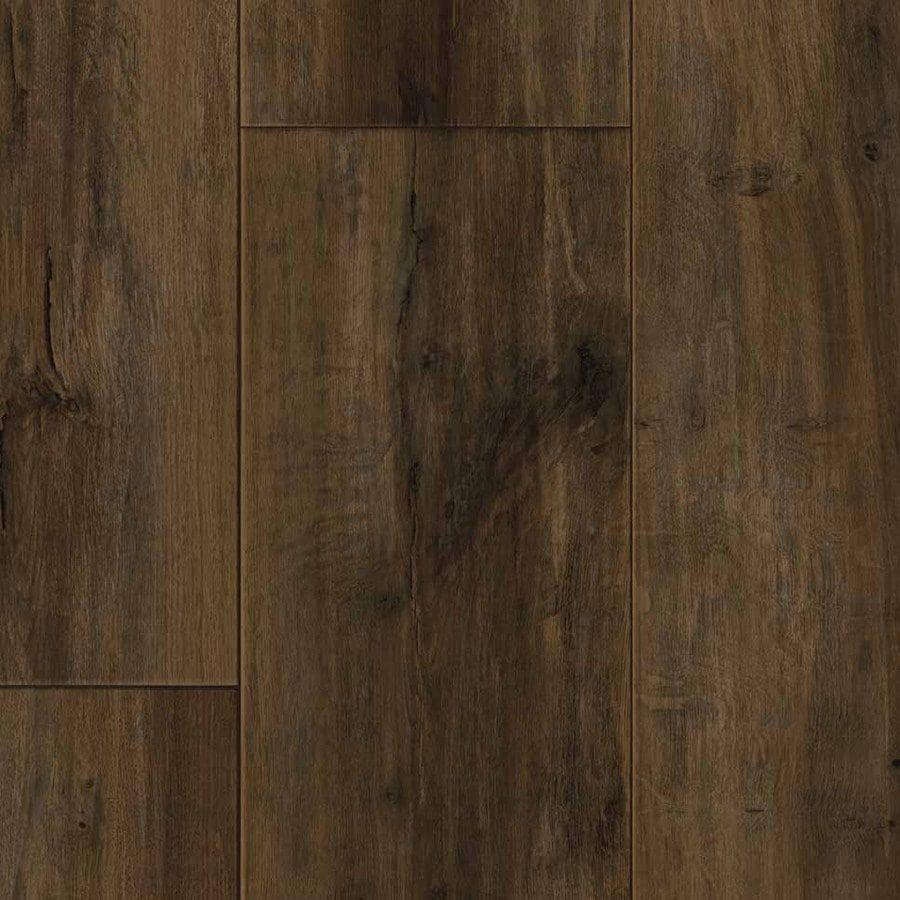 IVC Majestic 13.167-ft W Smoked Oak 543 Wood-Look Low-Gloss Finish Sheet Vinyl