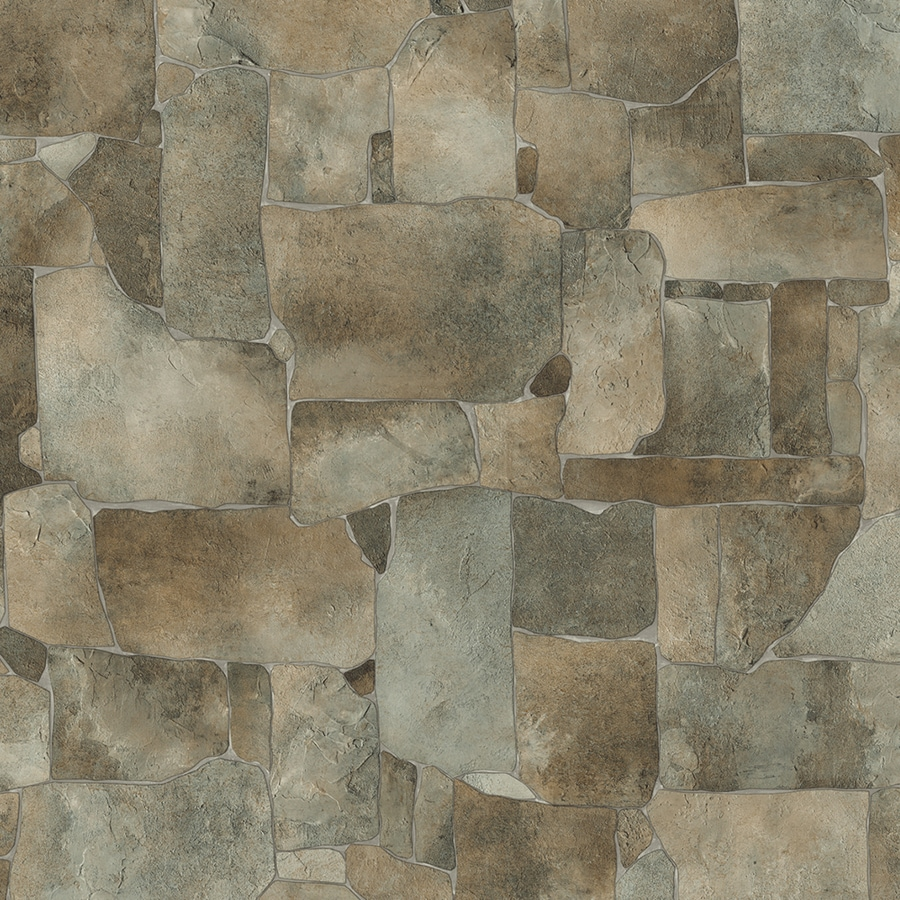 IVC Illusions 13.167-ft W Rock Springs 995 Stone Low-Gloss Finish Sheet Vinyl